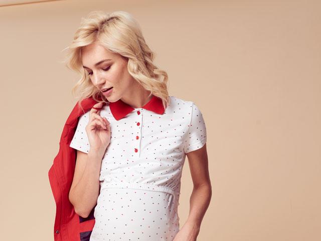Изображение для новости Новая коллекция одежды для беременных и кормящих