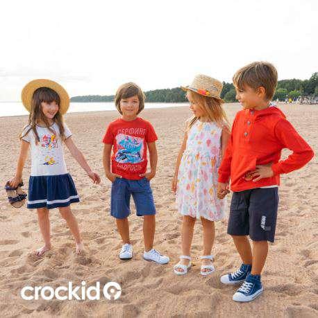 Акция Crockid дарит скидки и подарочные сертификаты к Дню защиты детей!