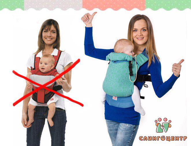 Изображение для акции Обучим пользоваться слингом или эргорюкзаком бесплатно! от Слингоцентр